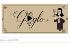 Doodle per Antoni van Leeuwenhoek, inventore del microscopio