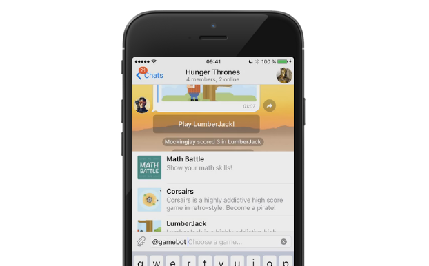 telegram bot giochi