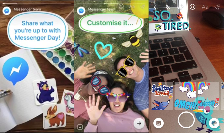 Facebook si ispira ancora a Snapchat e testa Messenger Day