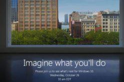 Cosa presenterà Microsoft all'evento del 26 ottobre?