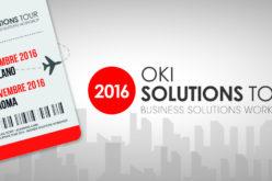 OKI Systems Italia parte per l'OKI Solutions Tour 2016
