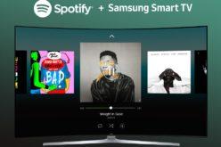 Spotify è ora disponibile su Smart tv Samsung del 2015 e 2016
