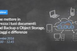 Aruba: nuovo webinar gratuito sulla protezione dei dati
