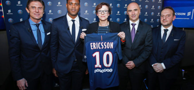 Il Paris Saint-Germain in partnership con Ericsson per garantire ai fan nuove esperienze digitali