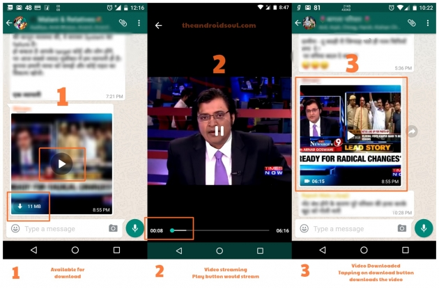 L'ultima novità di WhatsApp sarà vedere i video in streaming