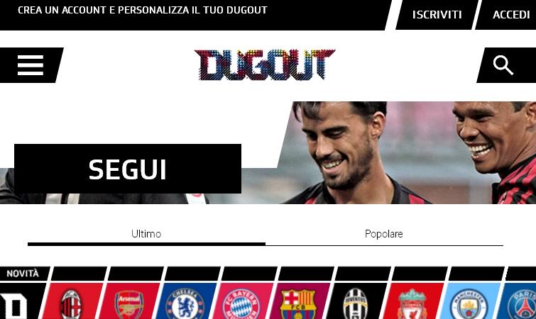 dougot calcio social network