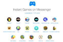 Su Messenger arrivano 18 nuovi Instant Games