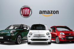 La Fiat 500 si compra su Amazon