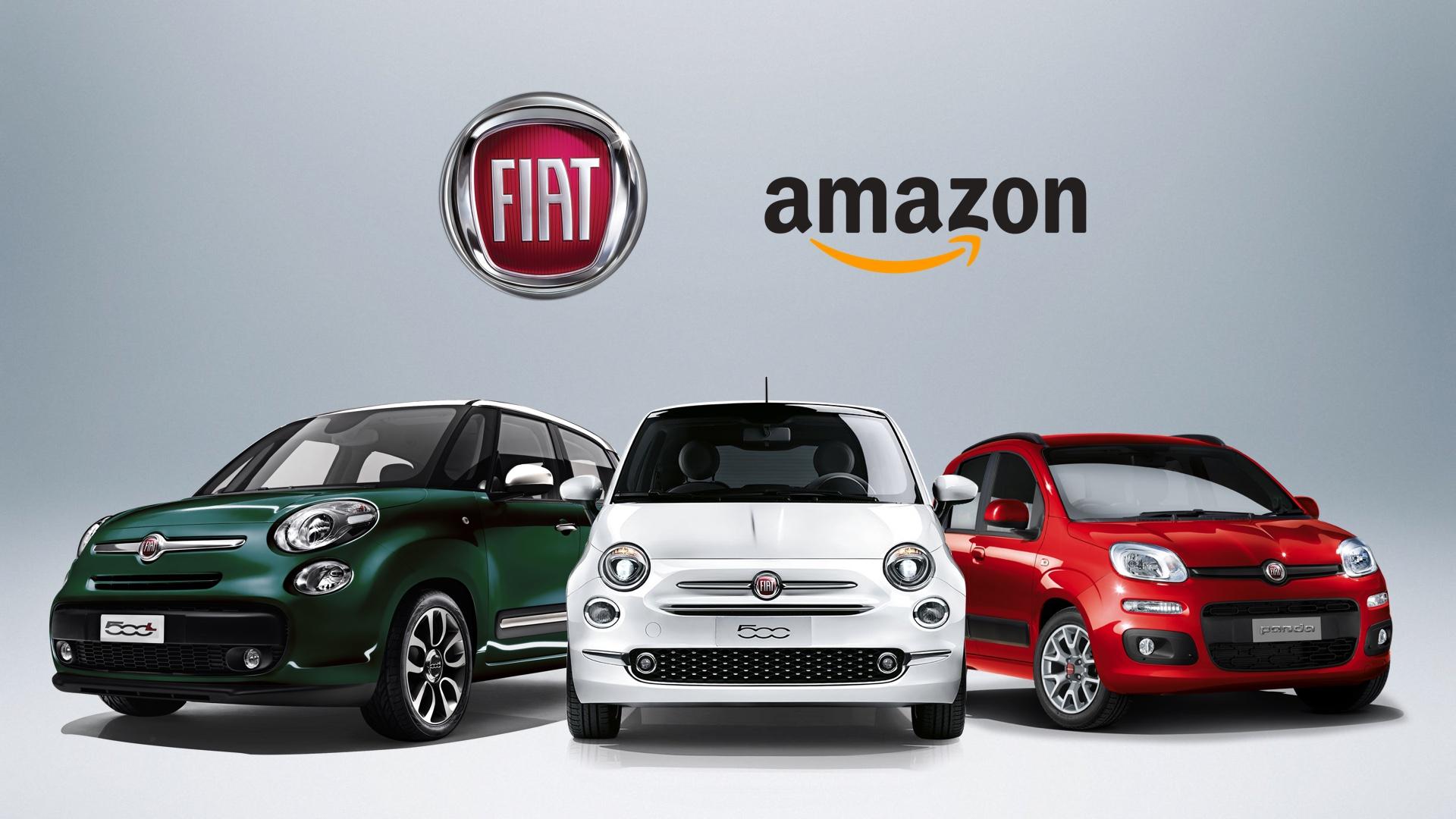 La Fiat 500 si compra su Amazon - Data Manager Online