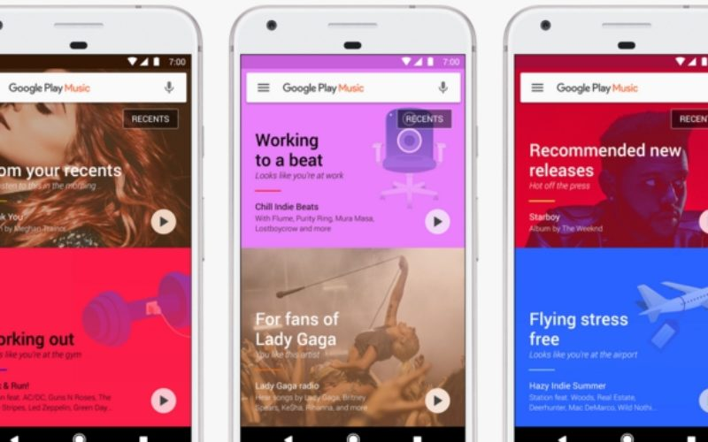 Google Play Music si rinnova con il machine learning