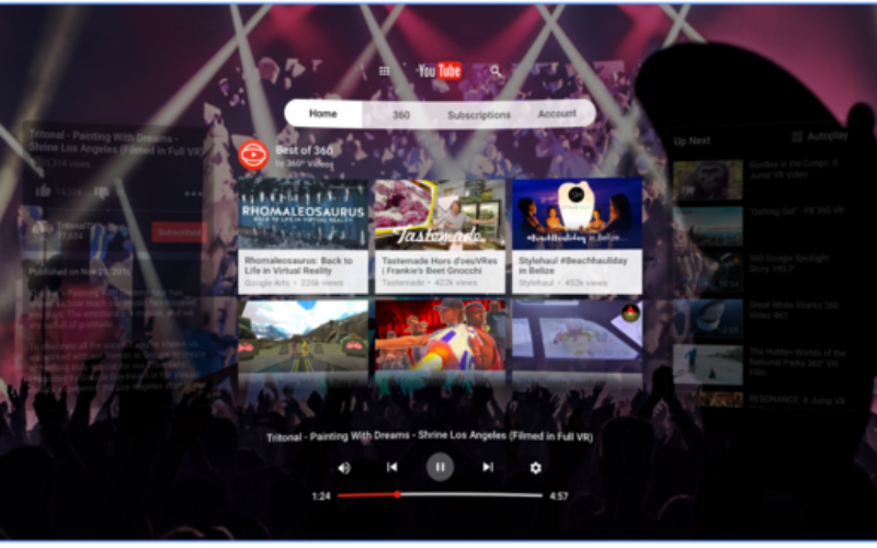 YouTube VR disponibile per Android
