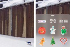 Instagram lancia gli stickers in stile Snapchat