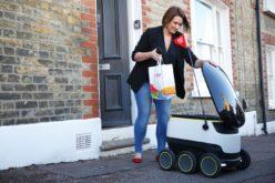 Just Eat ha dato il via alla consegna tramite robot
