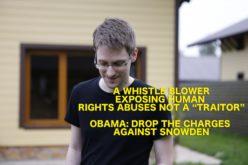 #CorriConMe: Amnesty Italia in strada per Snowden
