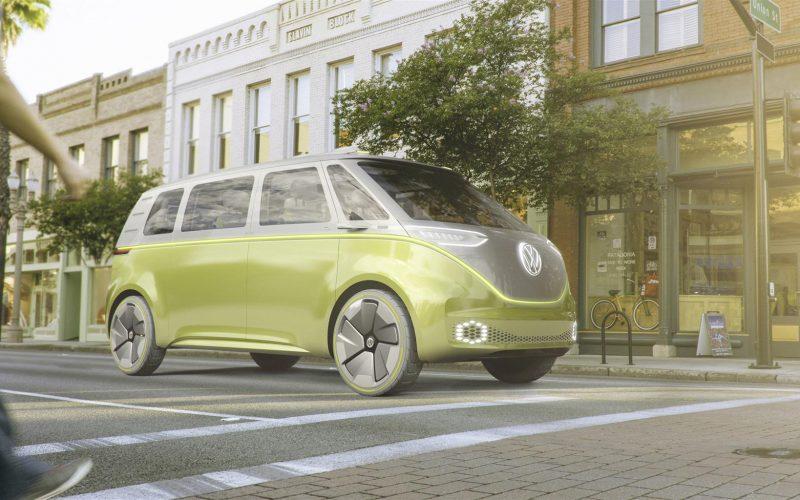 Volkswagen I.D. Buzz concept al Salone di Detroit 2017