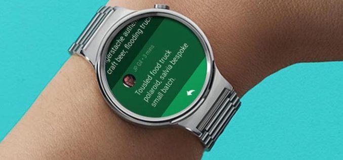 Quando arriva Android Wear 2.0? Solo Google lo sa