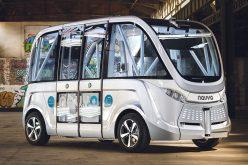 Il bus senza pilota debutta negli USA