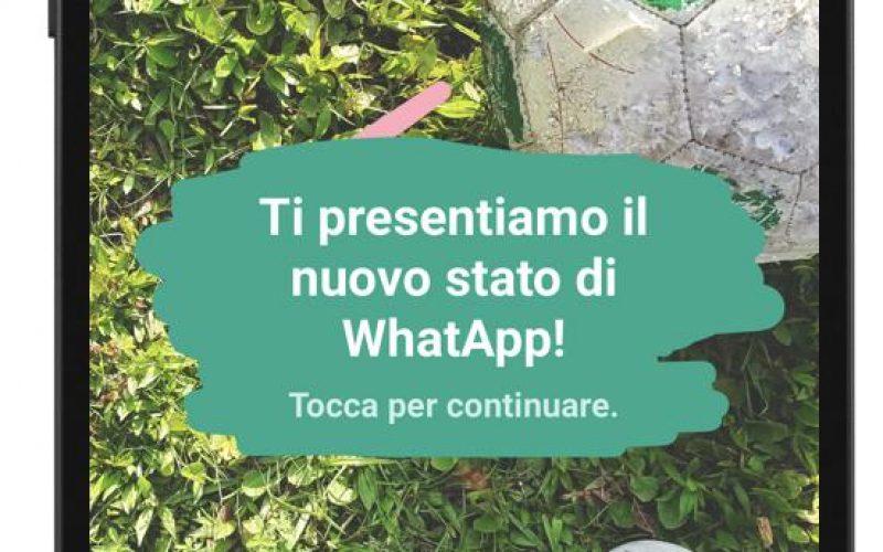 WhatsApp come Snapchat e Instagram: arrivano le Stories