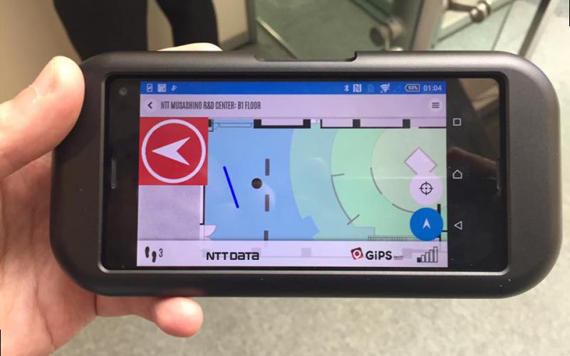 """NTT e NTT DATA annunciano Buru-Navi, una tecnologia di """"tactile navigation"""" per spazi indoor e outdoor"""