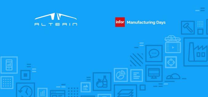 Altea IN è sponsor all'Infor Manufacturing Days di Milano