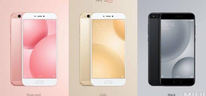 E' arrivato Xiaomi Mi 5c, il primo con chip Surge S1