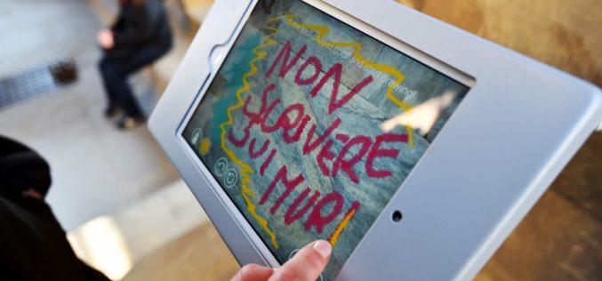 I graffiti digitali stanno salvando Firenze