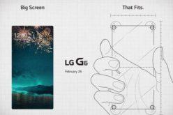 LG G6, il primo top di gamma senza cornice