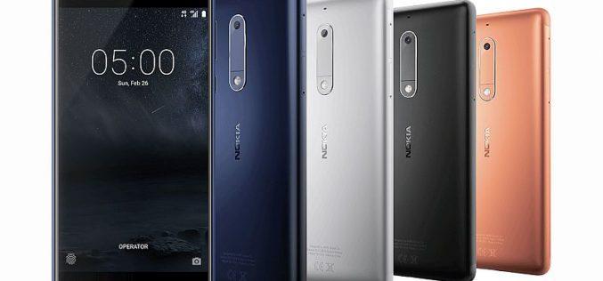 Nokia apre il MWC 2017 con gli smartphone 6, 5 e 3