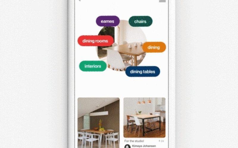 Con Pinterest arriva Lens, lo Shazam per le immagini