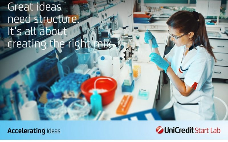 UniCredit Start Lab: aprono le candidature