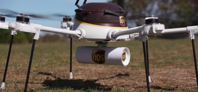Anche UPS testa i suoi droni per le consegne