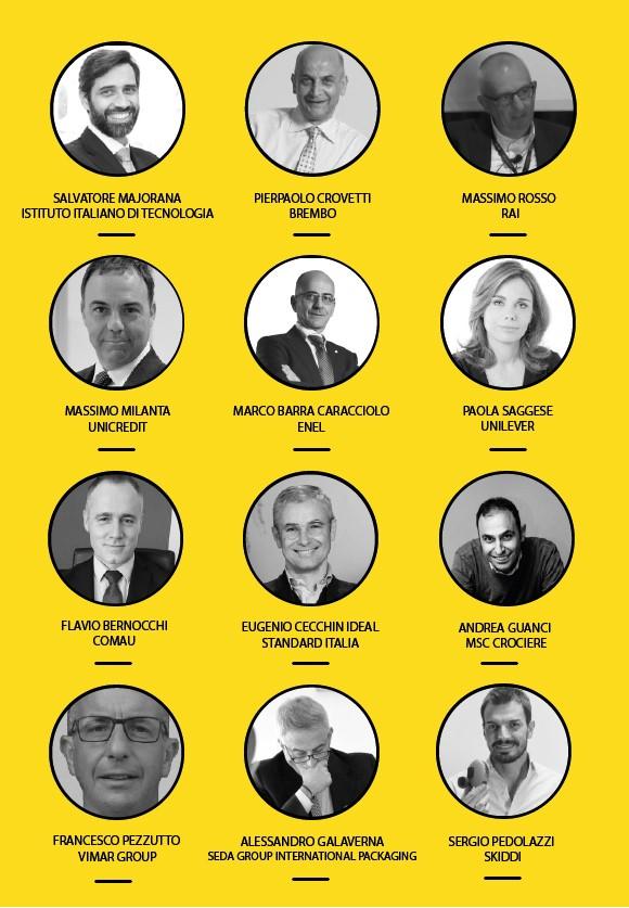 Relatori #WeChangeIT Forum