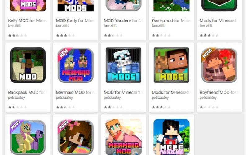 Minecraft: individuate su Google Play 87 app fake camuffate da mods del popolare videogioco