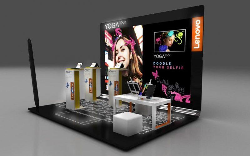 Lenovo: Yoga Book Mall Project è nei centri commerciali