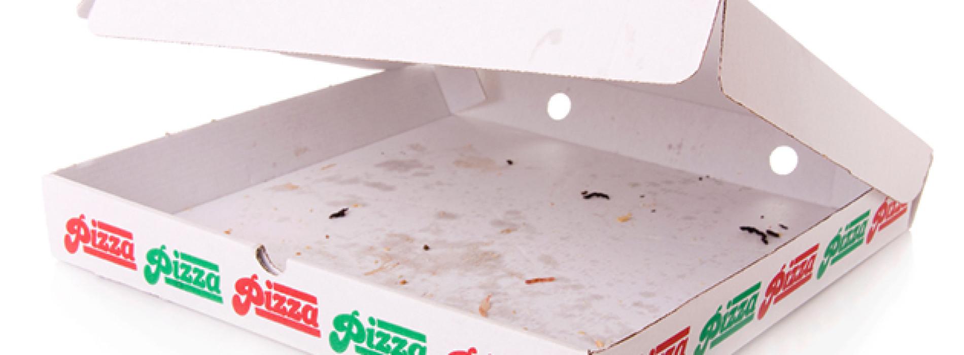 Attenzione ai cartoni delle pizze, alcuni contengono sostanze tossiche