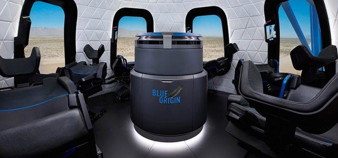 Blue Origin presenta le sue capsule spaziali con vista panoramica