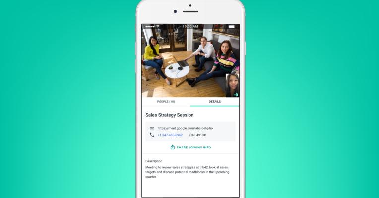 Google Meet non limiterà le chiamate sui piani gratuiti prima del 2021