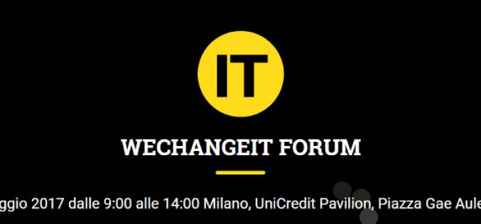 #WeChangeIT Forum