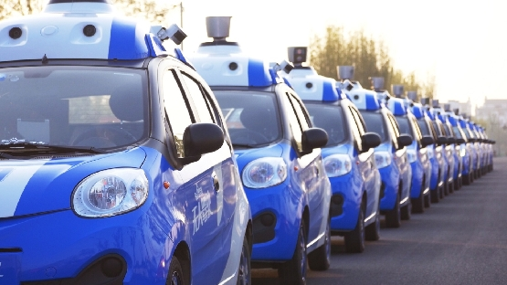 baidu self driving car