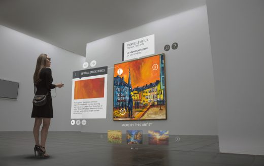 Realtà aumentata nei musei con gli smart glass Epson Moverio
