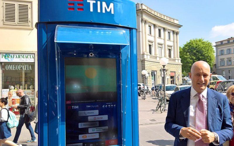 Tim City Link, la cabina telefonica diventa hi-tech