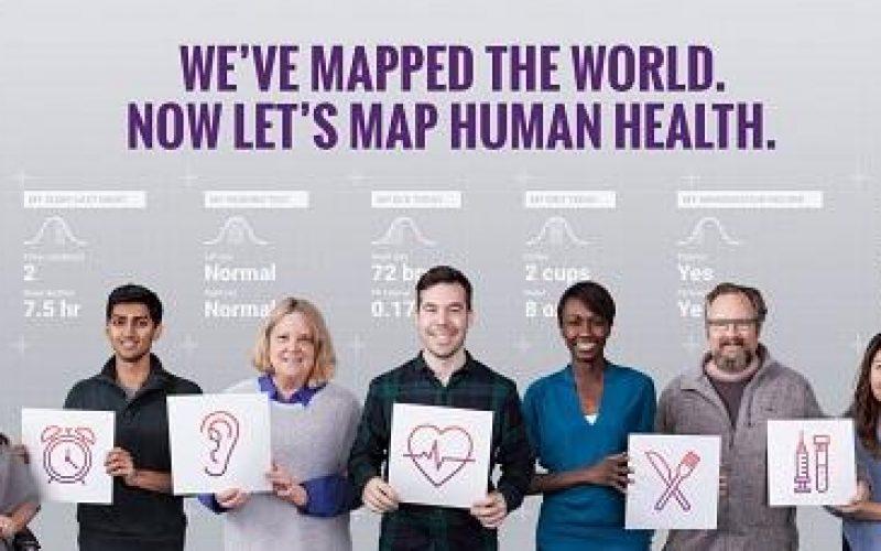 Google, volontari cercarsi per mappare la salute umana