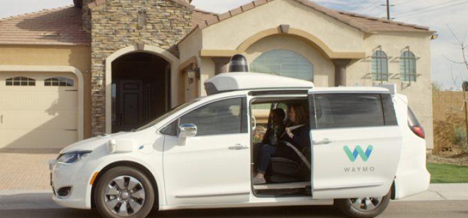 "Waymo riceve da Fca ""migliaia"" di Chrysler Pacifica"