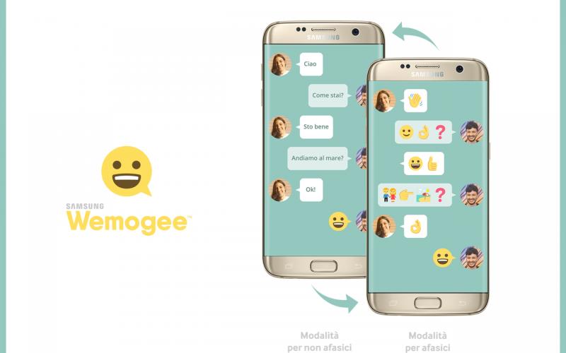 L'app Samsung Wemogee disponibile per dispositivi Android e iOS