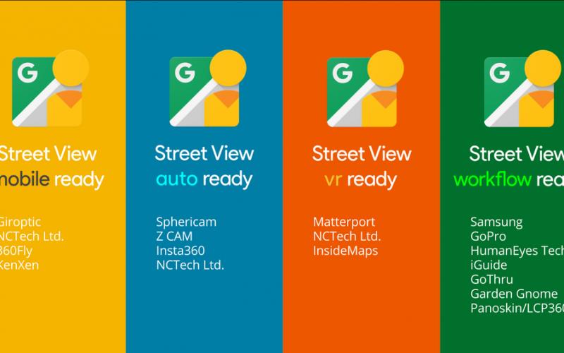 Google, foto e video a 360 gradi facili con Street View-Ready