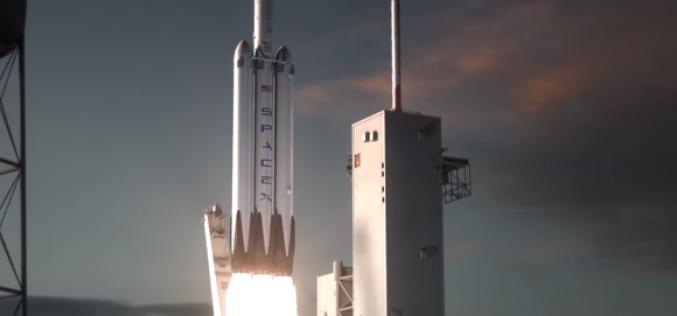 """SpaceX: a breve i test per il razzo """"marziano"""" Falcon Heavy"""