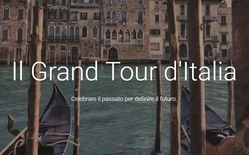Il Grand Tour d'Italia con Google
