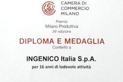 Premio Milano Produttiva per Ingenico Italia