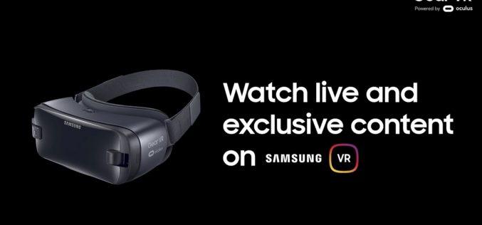 VR si fa sul serio: Samsung annuncia eventi e programmi in diretta