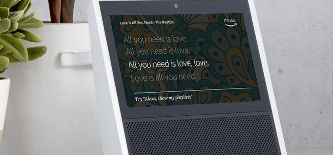 Ecco Echo Show, lo speaker domestico con display touchscreen